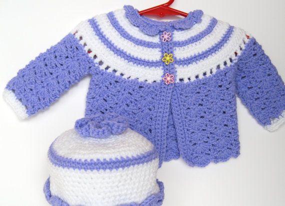 Purple Swing Sweater Set by pinkbowshop on Etsy