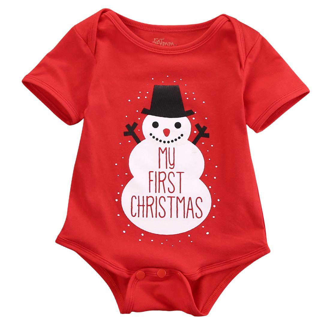 Christmas 2016 milestone My 1st Christmas Onesie or Shirt First Christmas Outfit Babys First Christmas