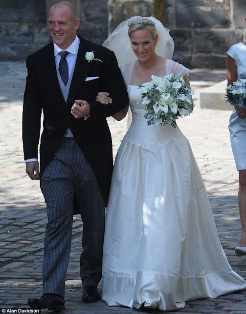 Zara Phillips and Mike Tindall tied the knot in Edinburgh | Zara ...