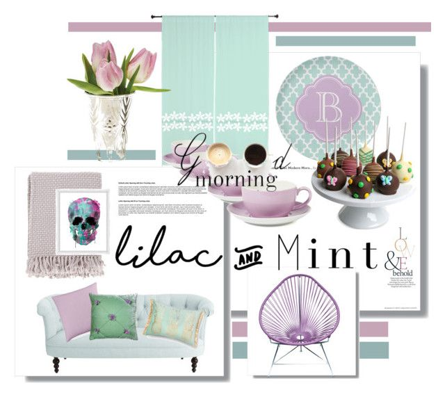 Lilac And Mint By Kari C Liked On Polyvore Featuring Interior