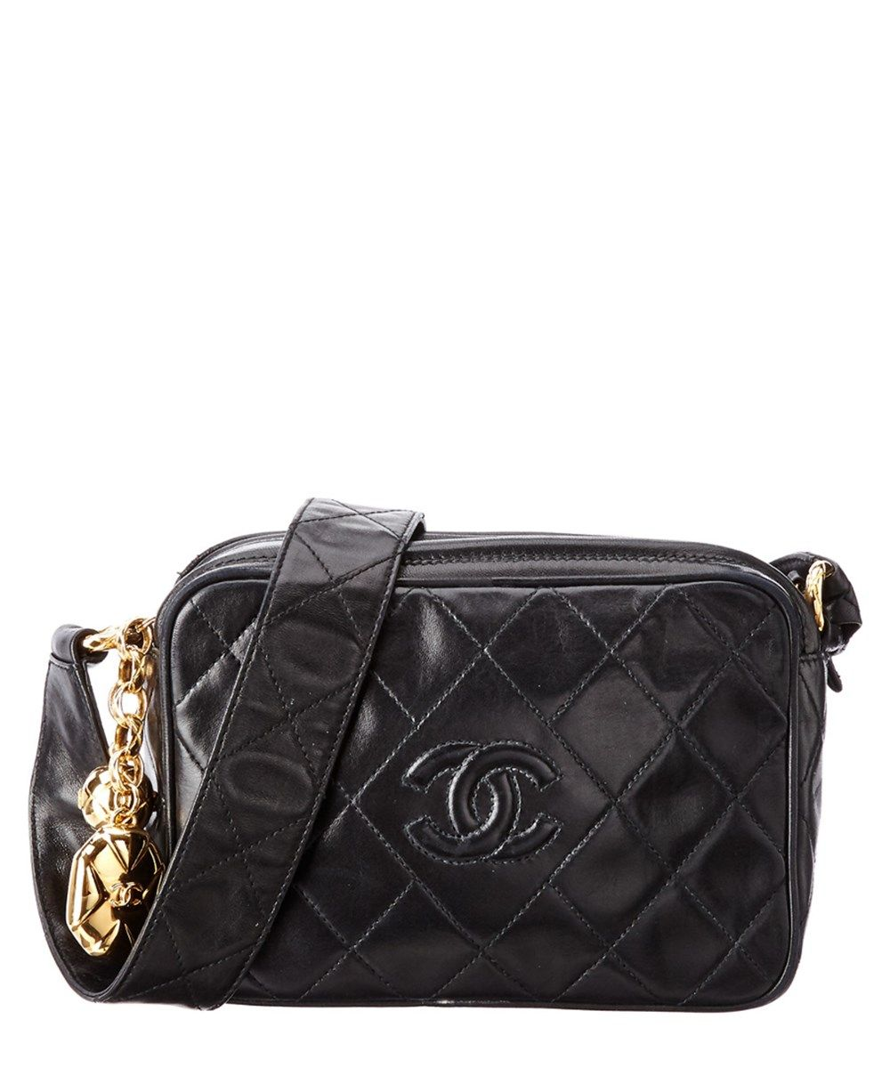 f5f320266135 CHANEL Chanel Black Quilted Lambskin Cc Camera Bag .  chanel  bags   shoulder bags  leather  lining
