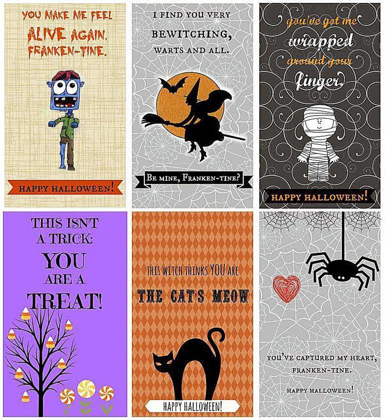 Free Printable Halloween Greeting Cards Scrapbook Para Imprimir Imprimibles Halloween