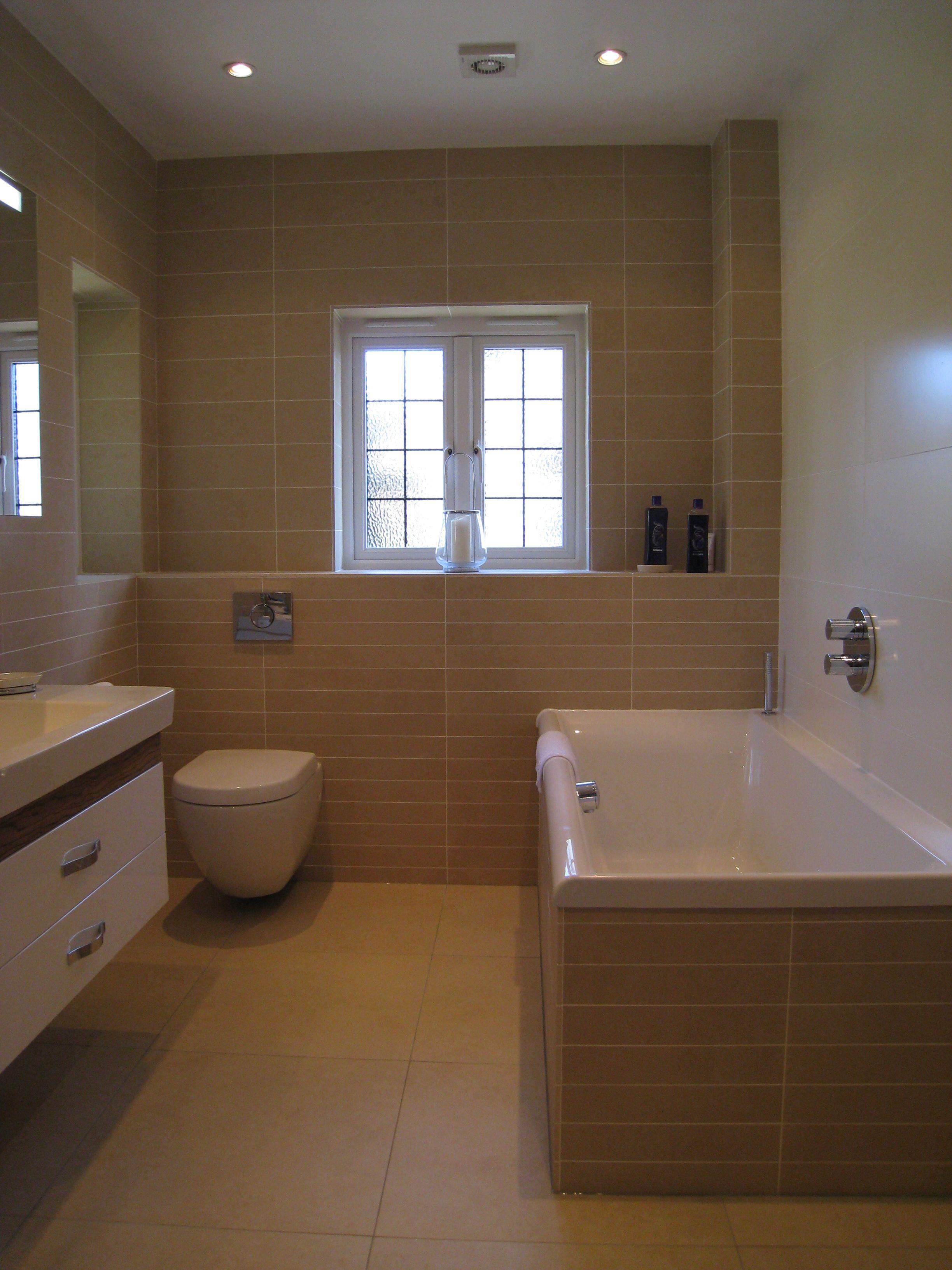 Bathroom Tiles Villeroy Boch villeroy & boch x-plane beige & melrose porcelain tiles used to
