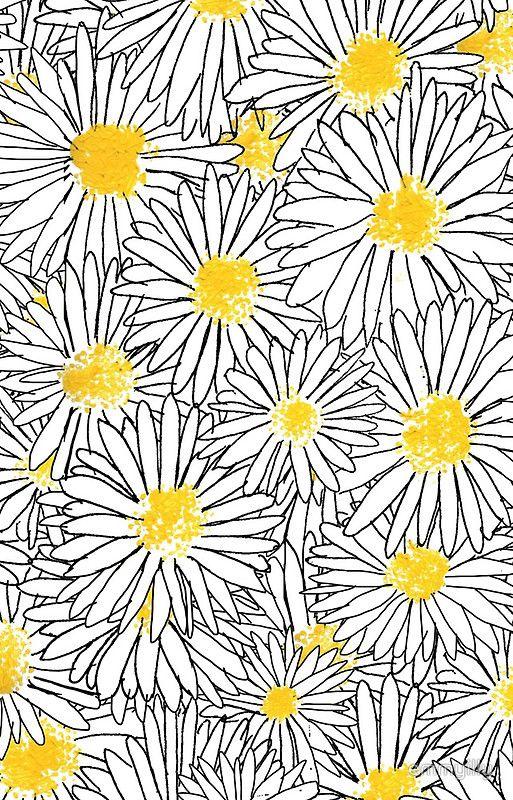 'Daisy, Daisy' iPhone Case by emmyilly Daisy wallpaper