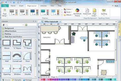 Free Floor Plan Software 2d Home Design Plans Office