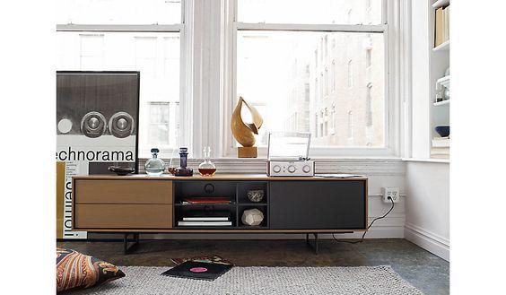 Aura Large Media Unit In 2020 Media Unit Modern Media Cabinets Furniture Design