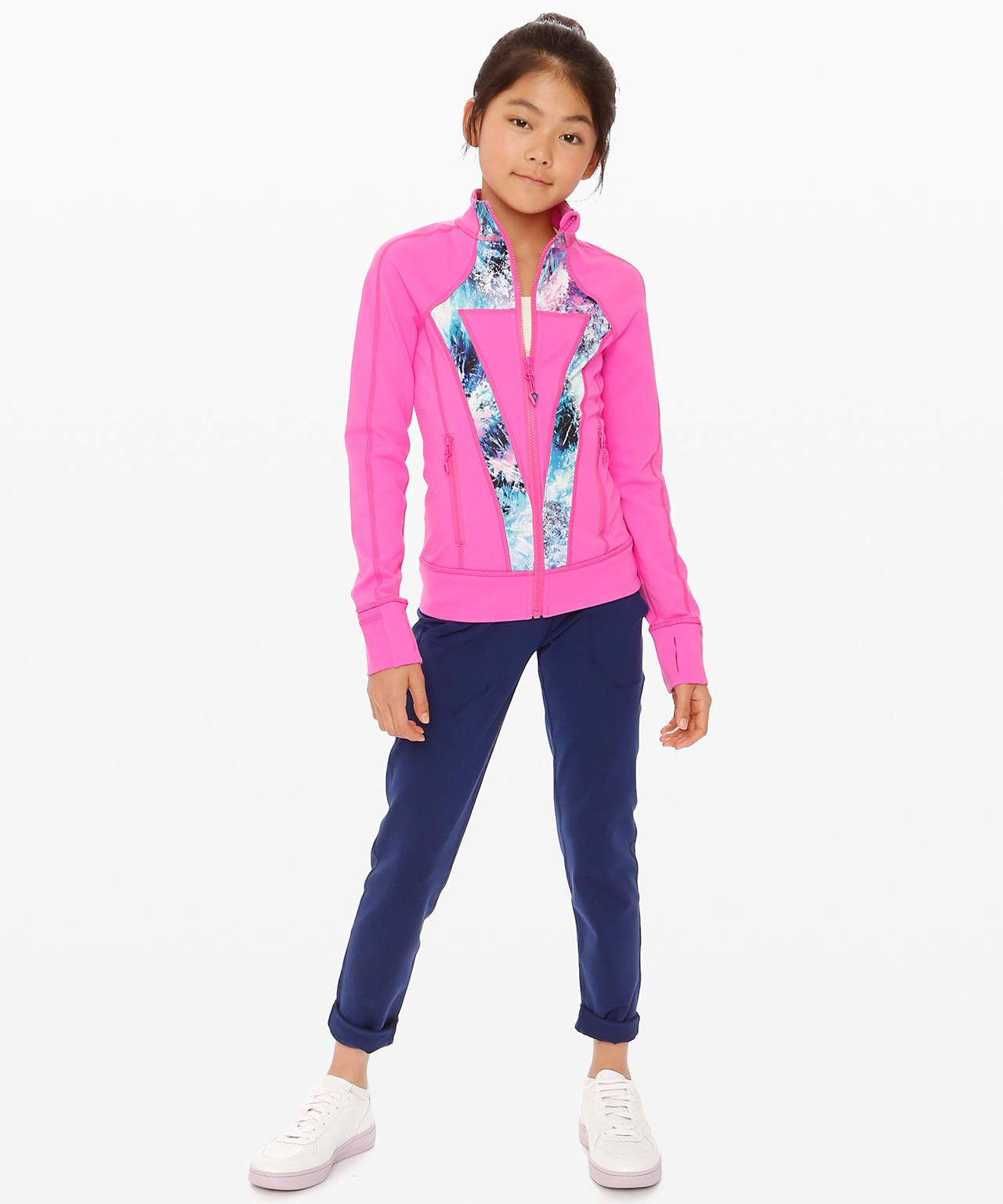 Shop The Perfect Your Practice Jacket Girls Jackets Outerwear Stretch After Practice In This Sweat Wick Girls Jacket Outerwear Jackets Technical Clothing [ 1536 x 1280 Pixel ]
