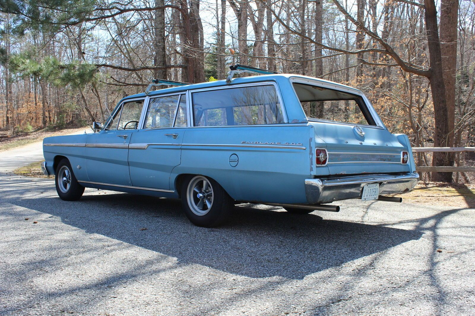 65 Ford Fairlane 500 Station Wagon No Question As To Why It Was