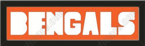 Cincinnati bengals memory mat customized name frame or purchase as cincinnati bengals memory mat customized name frame or purchase as bengals letters cut out spiritdancerdesigns Images