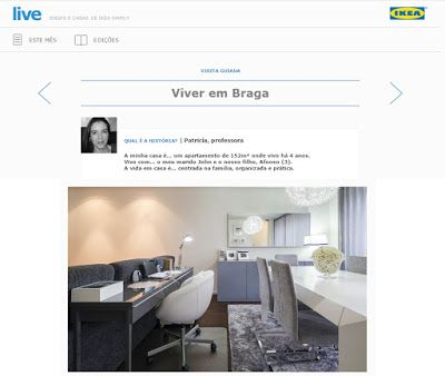 Decoro de Coração: O meu trabalho na IKEA Family Live Magazine ...