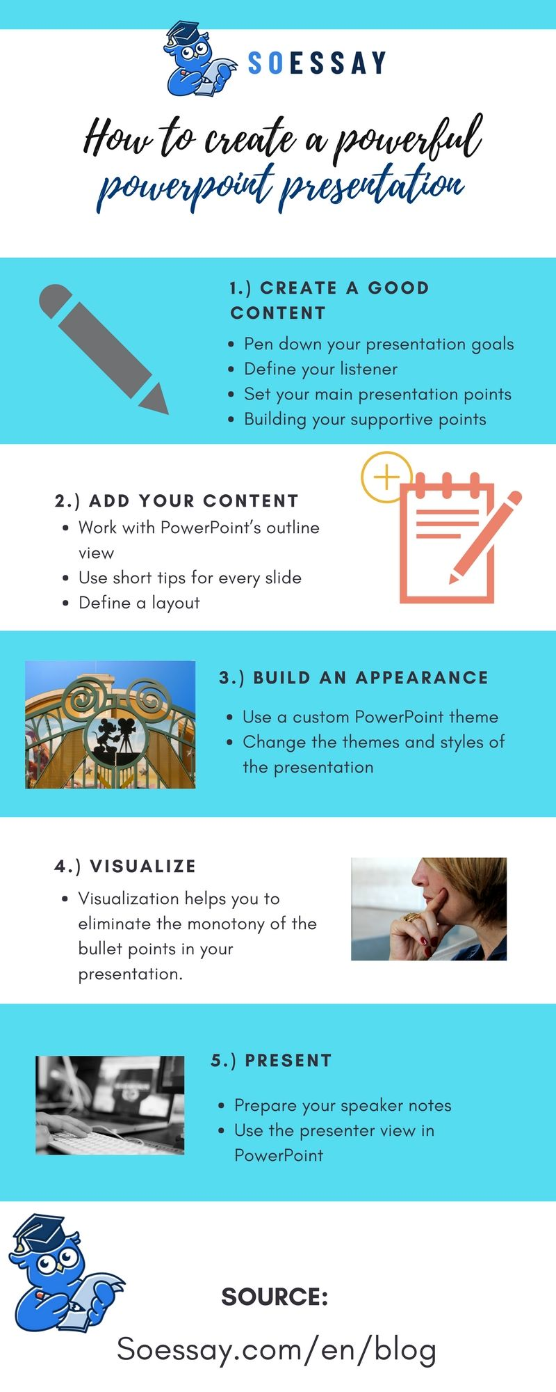 how to create a powerful powerpoint presentation writing tips
