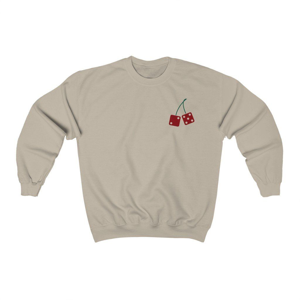 Lucky No. 7 Crewneck Sweatshirt - Sand / 5XL
