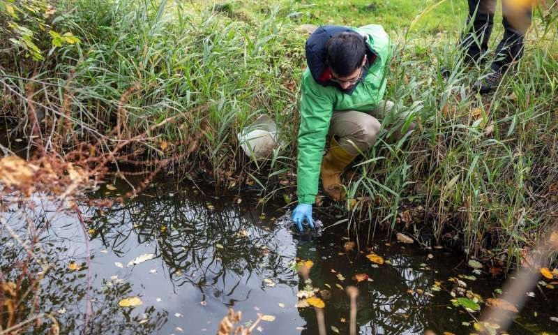 Banned pesticides in Europe's rivers Antibiotic, Europe