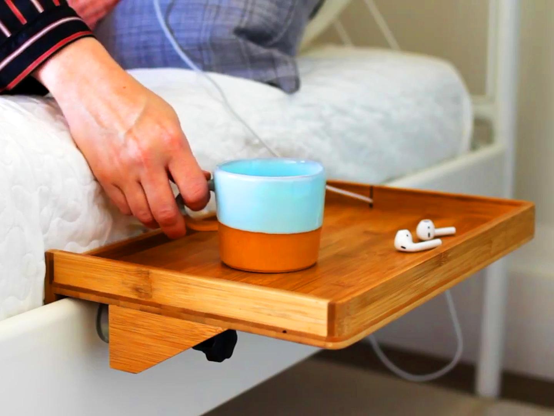 Image result for bed shelf