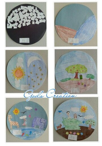 God S Creation Based On The Book Of Genesis Kid S Craft Great