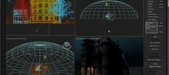 3dsMax - Ignore Extents BY Gary Davis