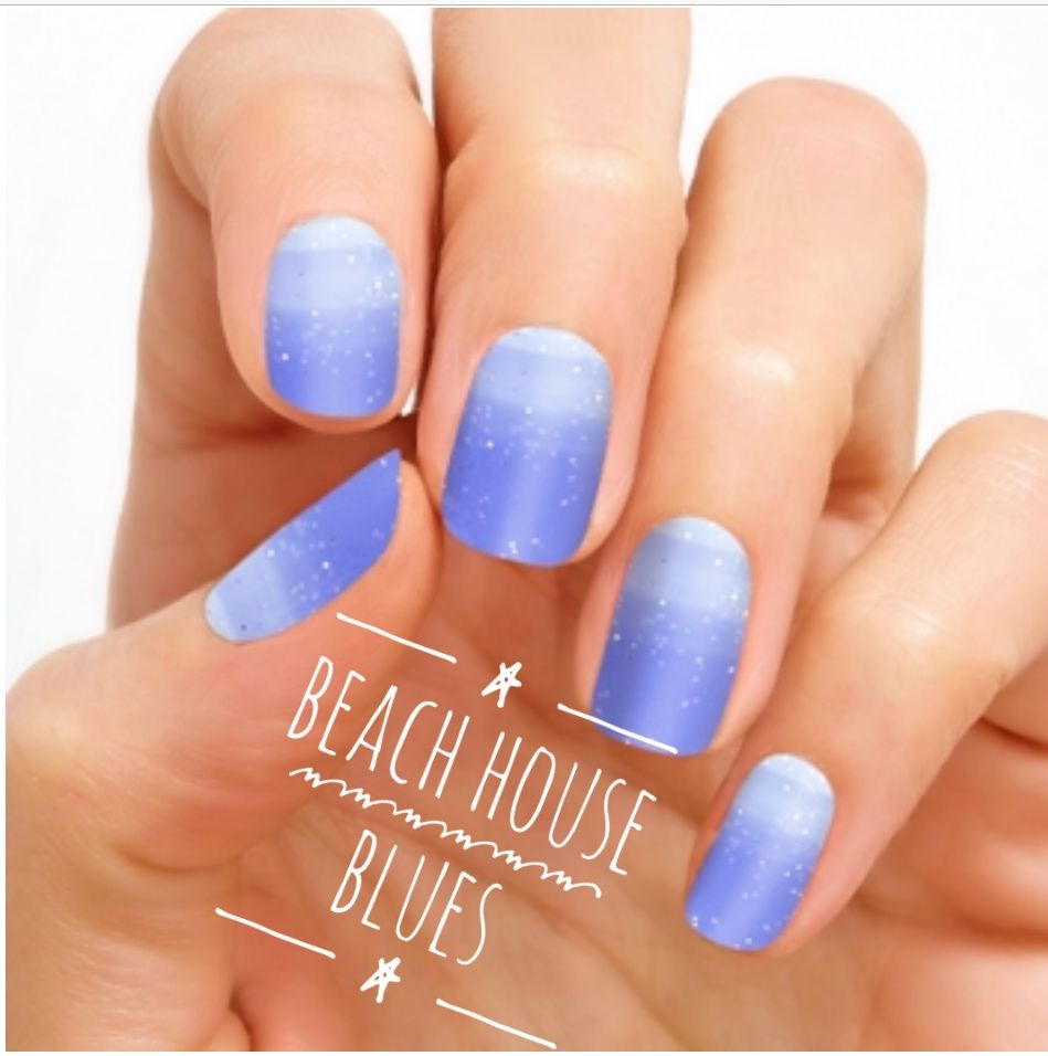 Beach House Blues Color Street Summer Collection Seaside Dreams