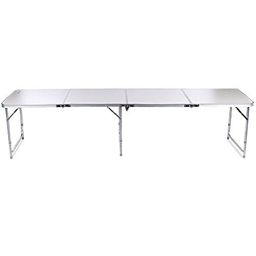 Ancheer 4 In 1 Aluminum Portable Folding Utility Table With Carrying Handle  For Kitchen