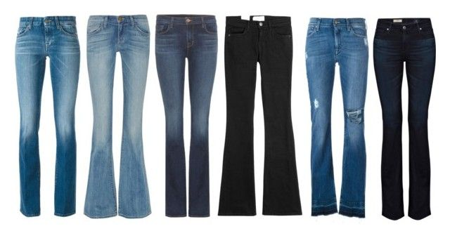 """""""Love them // Bootcut"""" by annaolausson ❤ liked on Polyvore featuring J Brand, 7 For All Mankind, Current/Elliott and AG Adriano Goldschmied"""