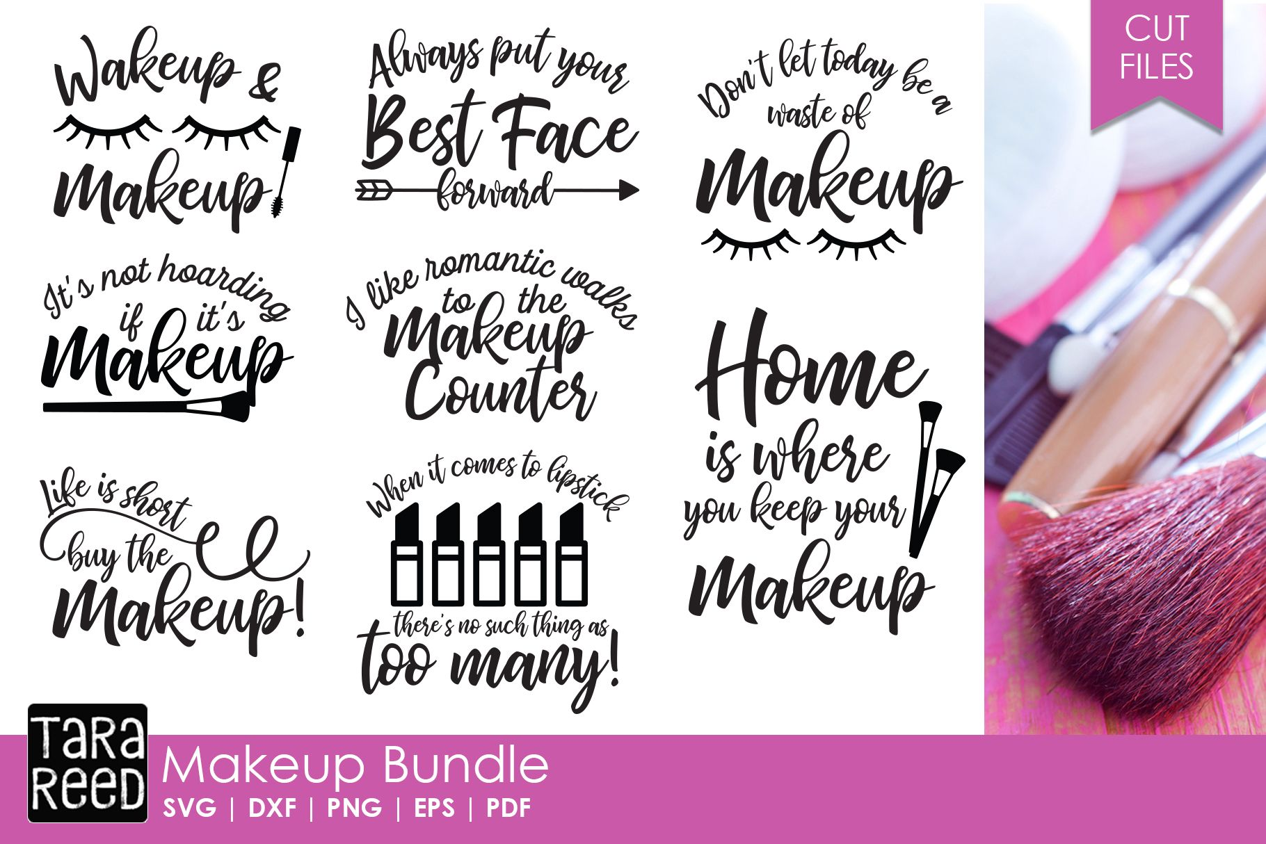 Makeup Bundle Misc (Cut Files) Makeup bundles, Cheap