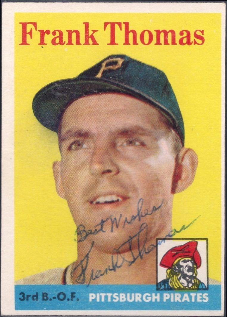 1990 topps baseball cards frank thomas