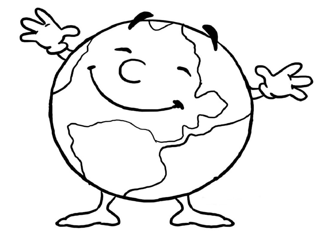 Download Earth Day Coloring Pages