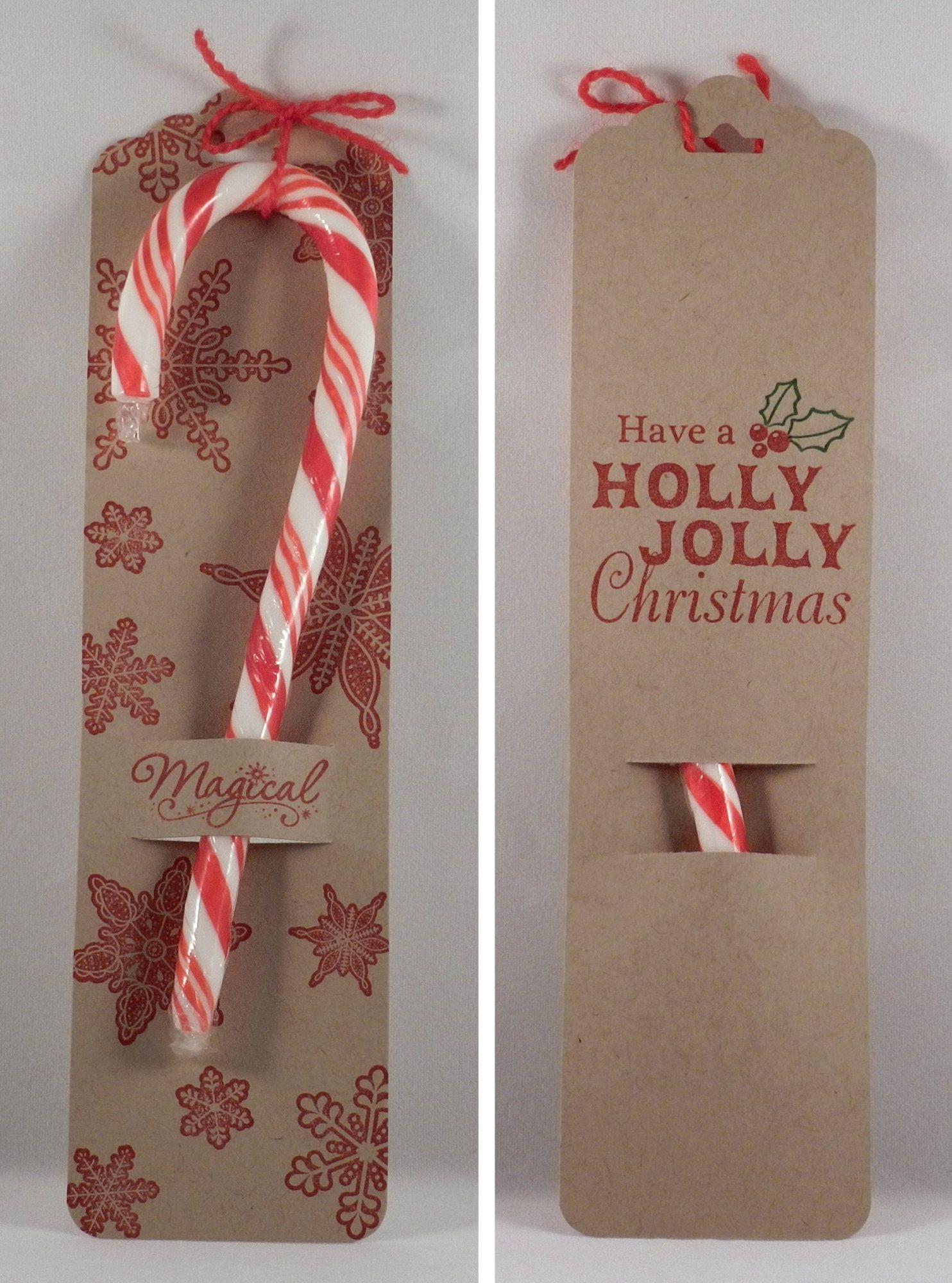 Candy Cane Holder Hot Off The Press Flying Reindeer Stamp Set HOTP1071