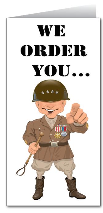 Happy Birthday Military Style Military Drill Sergeant Happy
