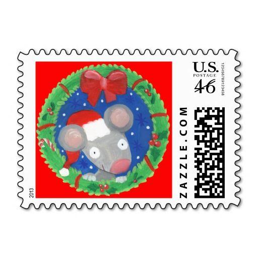 Merry Christmas ! Postage Stamp
