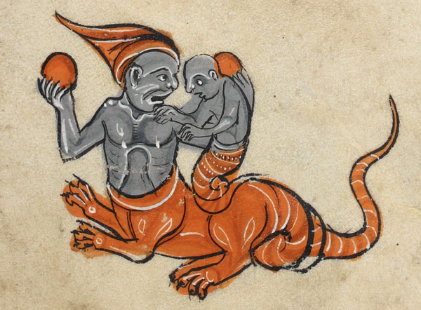 Father and son. Add MS 62925 f. 80r @BLMedieval