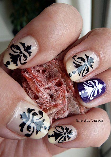 Baroque Nail Art Looks So Pretty My Style Pinterest Nail Nail