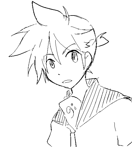 anime spiky hair girl google search sketches pinterest