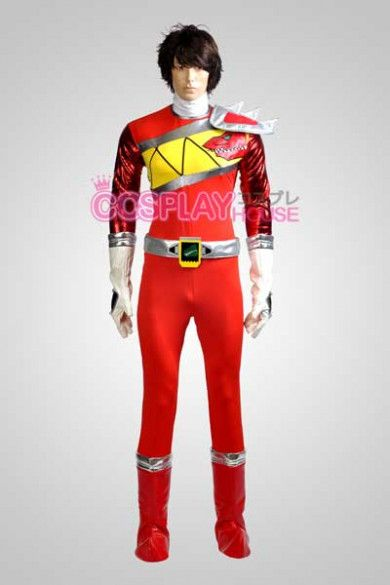a3ce10fd3 Power Rangers Dino Charge/Kyoryuger -- Red Ranger Cosplay Costume Version 01