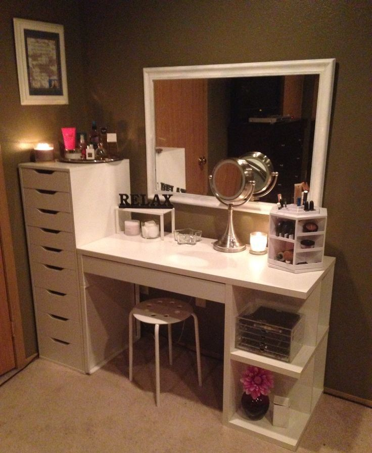 Pin by Koby Ward on Desks Pinterest Vanities, Organizing and