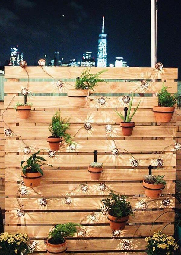 8 DIY-Projekte zur Dekoration Ihres Innenhofs   – Terrasse