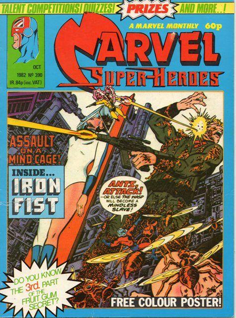 Marvel Super Heroes Uk Vol 1 390 Marvel Superheroes Marvel Golden Age Comics