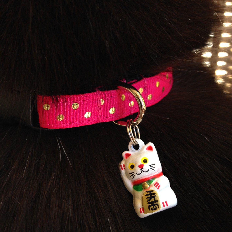 Get lucky! Ring in the Lunar New Year. Neko bell collars