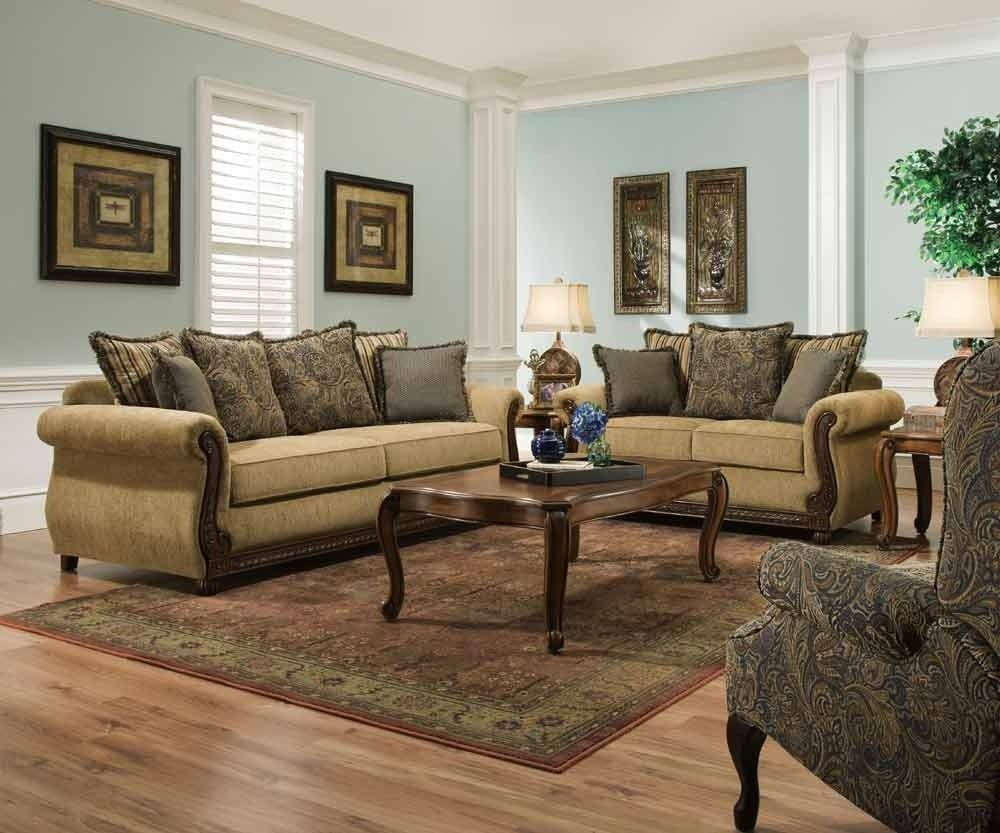 Antique Living Room Designs Mesmerizing Simmons Upholstery  Outback 3 Piece Living Room Set  81150302 Decorating Inspiration