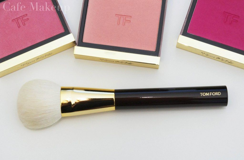 Tom Ford Cheek Brush and Frantic Pink, Wicked and Narcissist Blushes