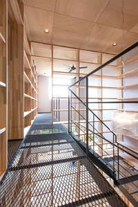 House of bookshelf on Architizer