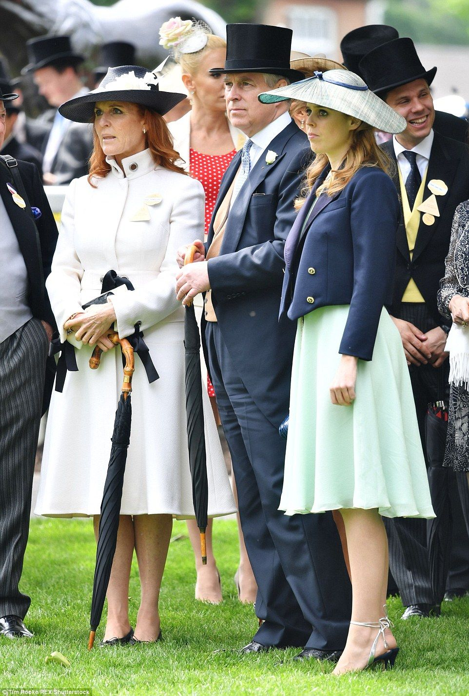 Fergie is excited to greet the Queen at Royal Ascot
