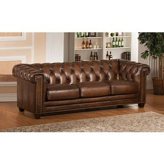 Overstock Com Online Shopping Bedding Furniture Electronics Jewelry Clothing More In 2020 Leather Sofa Sale Leather Chesterfield Sofa Leather Sofa