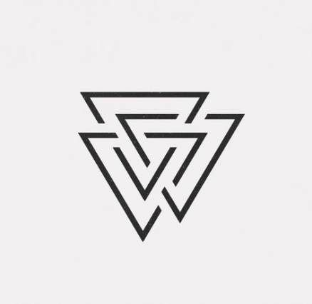 49+ ideas tattoo geometric triangle graphic design every day for 2019