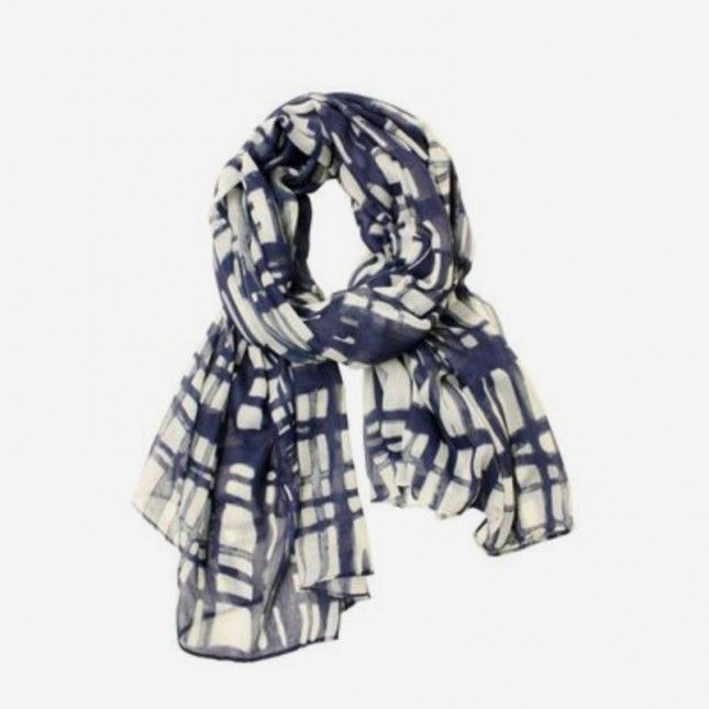 17 Scarves to Help You Layer in Style via Brit + Co