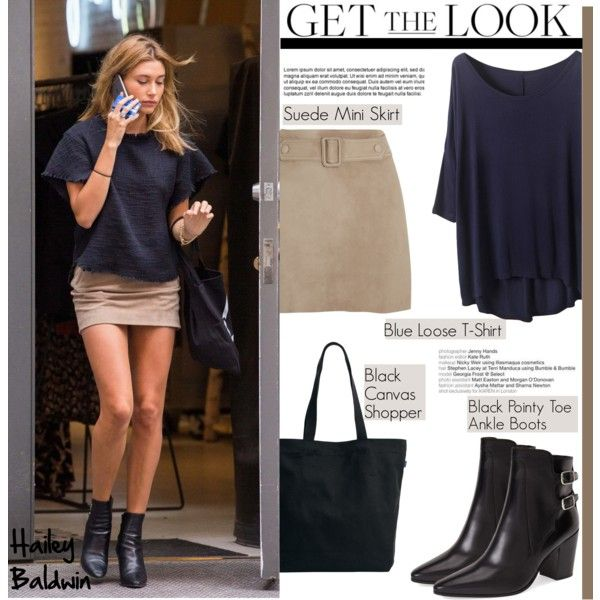 05a154255e Get the Look  Hailey Baldwin by helenevlacho on Polyvore featuring  polyvore