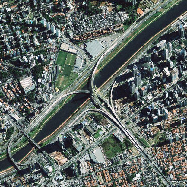 Sao Paulo's Octavio Frias de Oliveira Bridge