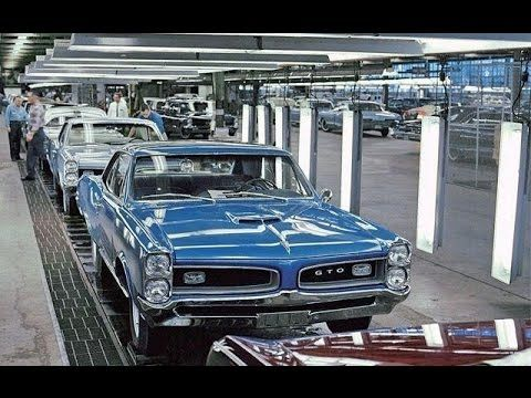 Amazing Muscle Car Era Factory Assembly Lines Youtube Vintage Muscle Cars Muscle Cars Classic Cars