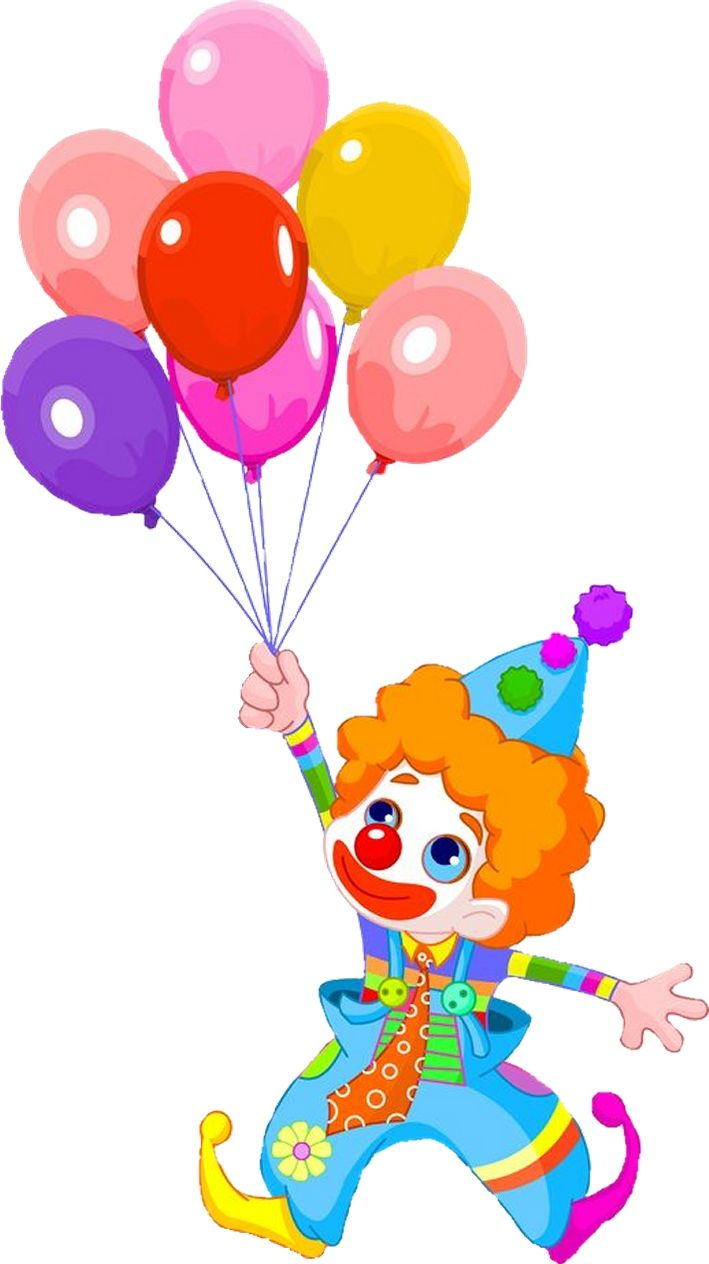 clip art clowns with balloons - photo #18