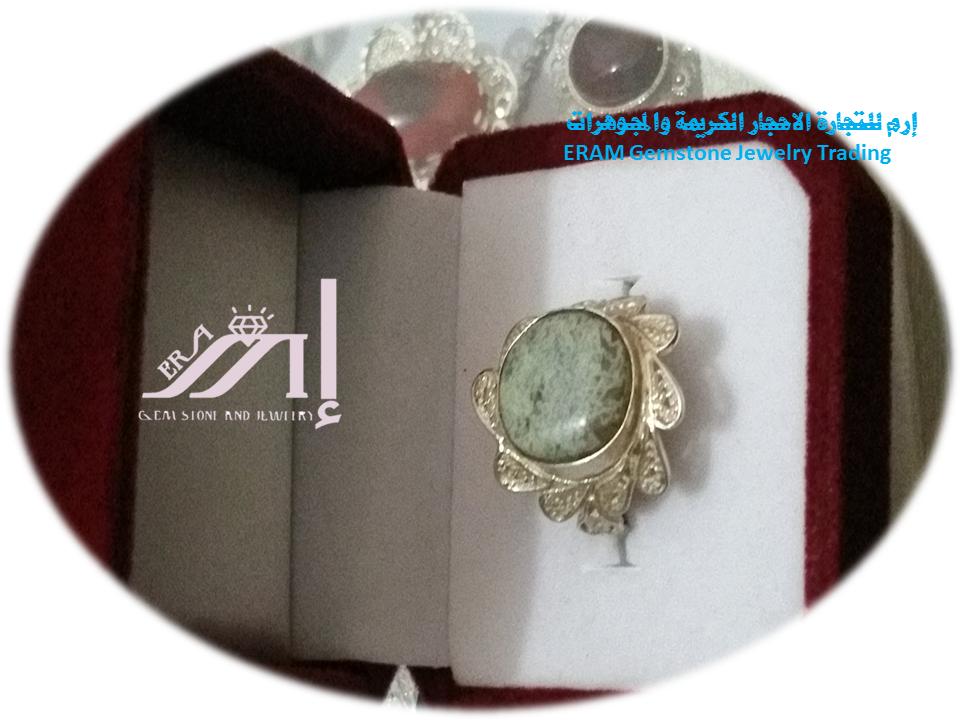 خواتم عقيق نسائي يمني جزع اخظر طبيعي 100 Agate Gemstone Jewelry Gemstones Jewelry