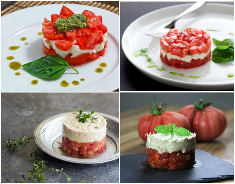 Tomate Mozzarella Salat Tartar Anchovis Rezepte Recipes Ideas Tomato Mozzarella Salad Tomaten Mozzarella Salat Mozzarella Salat Tomate Mozzarella